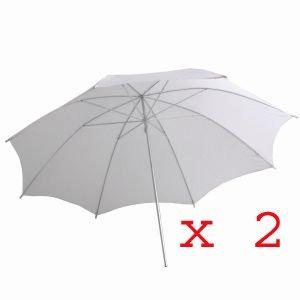 ephoto 2 x apagado flash de la cámara fotografía umbrella fl