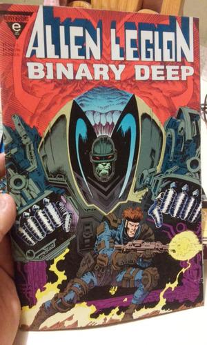 epic comics en ingles alien legion binary deep