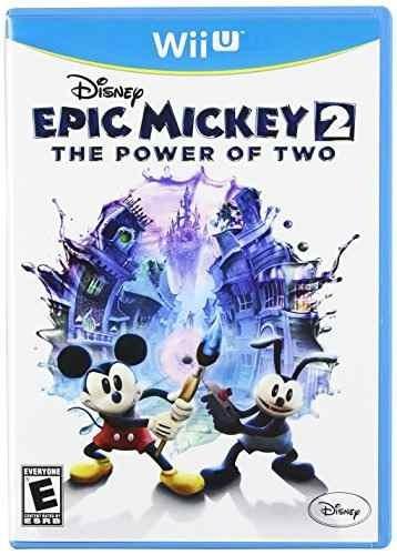 epic mickey 2: el poder de los dos - nintendo wii u