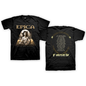 Epica - 10 Anniversary Tour 2019 - Remera Oficial Mod 1