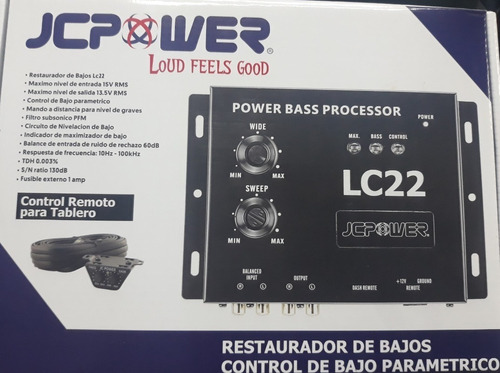epicentro restaurador bajos lc22 jc power graves + q lc1 wow