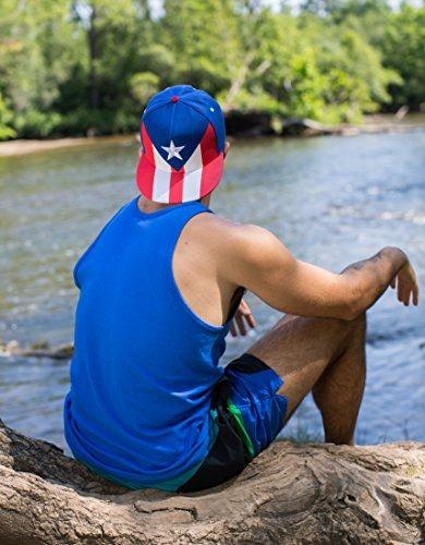 Épico Puerto Rico La Bandera Snapback Sombrero  5ce8a268c13