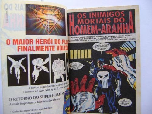 épicos marvel nº5 set 94 os inimigos mortais do homem-aranha