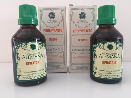 epilobio extrato - epilobium parviflorum 50ml - 2 unidades