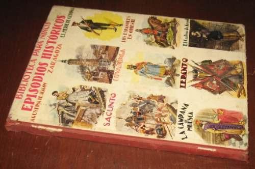 episodios históricos biblioteca para niños sopena antiguo