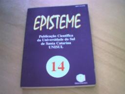 episteme 14 - publicação científica da unisul - mar/jun 1998