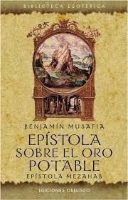epístola sobre el oro potable / benjamín mousafia / envíos
