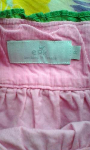 epk falda de pana talla 8