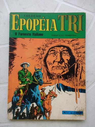 epopéia tri nº 4 - 1º edição - editora ebal - 1970