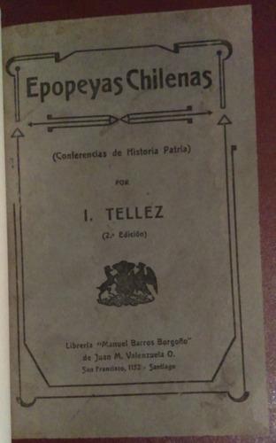 epopeyas chilenas i. tellez