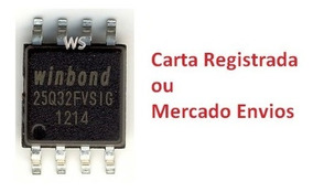 Eprom Bios Virgem Winbond 25q32fvsig 25q32 3 3v - 2 Peças
