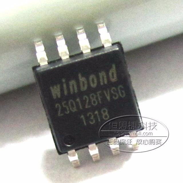 Eprom Virgem Winbond 25q128fvsg Sop8 Memoria 25q128 Q128