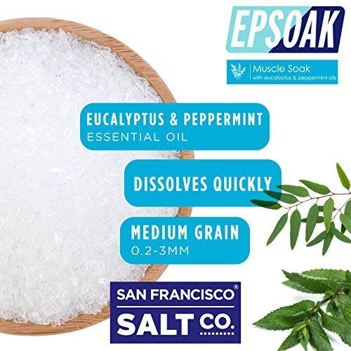 epsoak muscle soak 6 lbs. - calmar los dolores