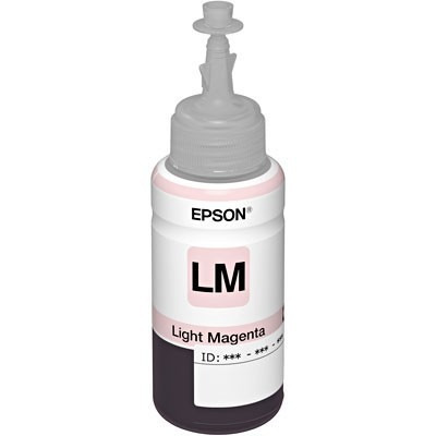 epson botella tinta light magenta 673 l800 - l850 - l1800