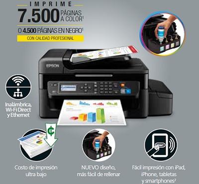 epson ecotank l575 impresora copiadora escáner