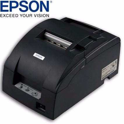 epson impresora punto venta tm-u220d negro usb (gadroves)