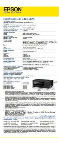 epson l3150-l4150 impresora sistema original incluye iva wif