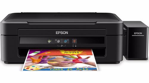 epson l380 sublimática a4 + 520ml de tinta + perfil de cores