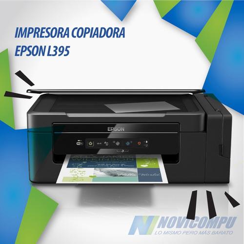 epson l395 impresora tinta continua con iva y garantia epson