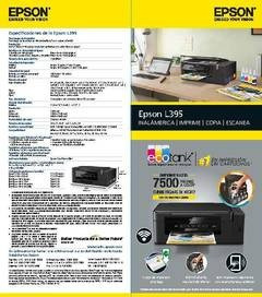 epson l395 wifi multifuncional a color original garantia