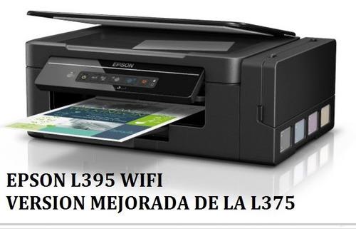 epson l395 wifi multifuncional a color original garantia