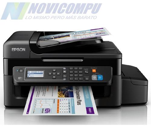 epson l575 inalámbrica i imprime i copia i escanea i fax i