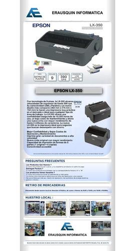 epson lx-350 impresora
