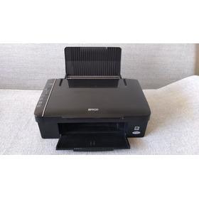 Epson Stylus Tx115 Impresora Scaner Fotocopiadora Negociable