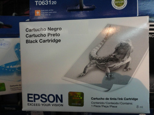epson t063120 631 negro c67 c87 cx3700 cx4100 cx4700 cx5700