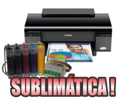 epson t33 sublimatica + bulk ink -+ garantia
