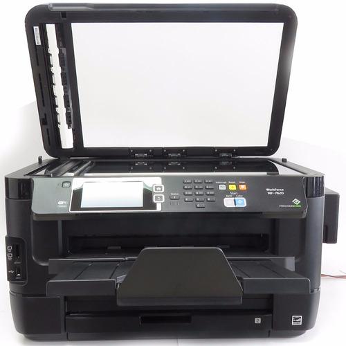 epson tabloide wf 7620 con sistema de tinta continuo