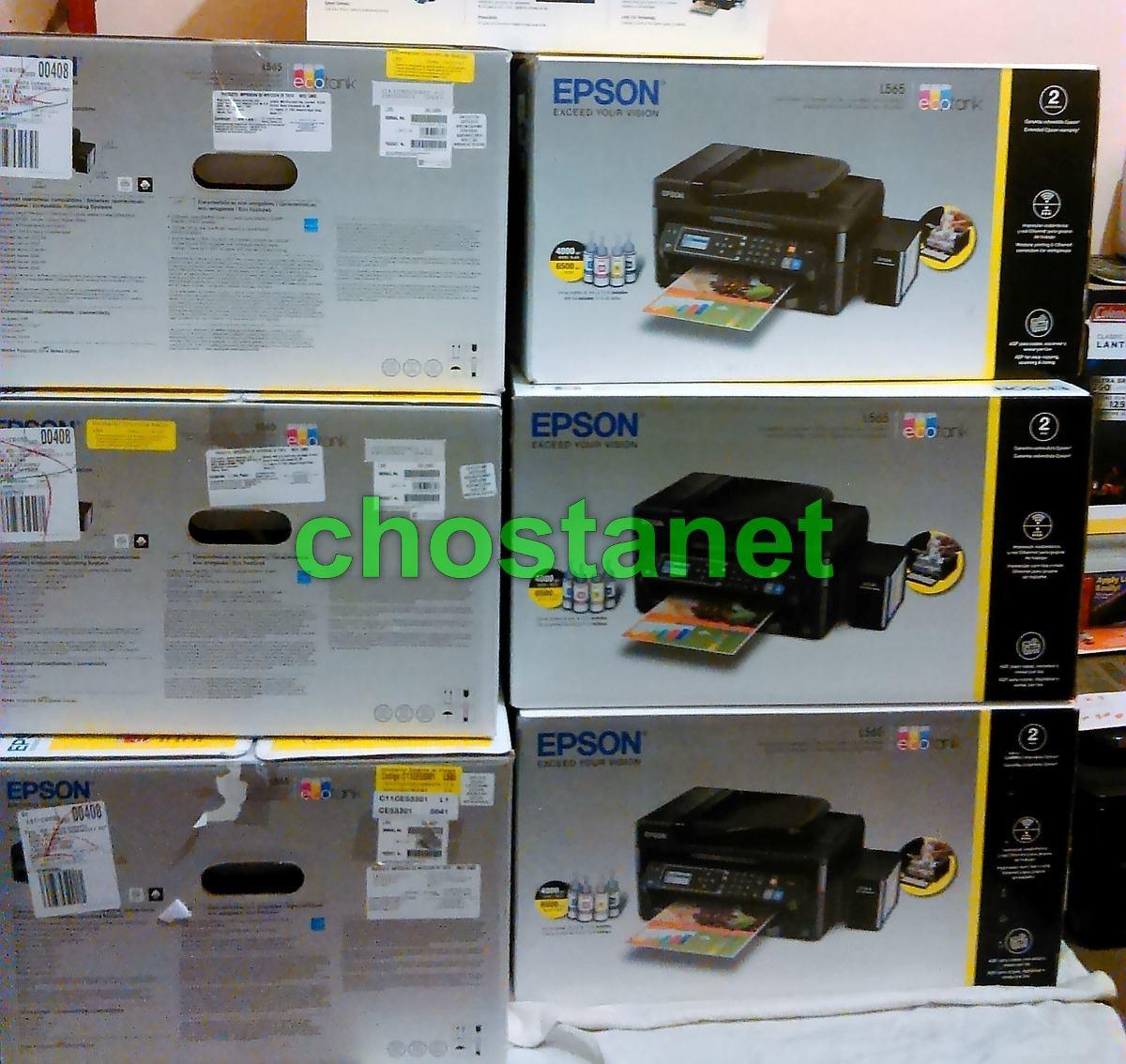 Multifuncional Epson L565 L665 Wifi Ecotank Tinta Continua