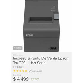 Epson Tm T20ii + Caja De Dinero Ecline