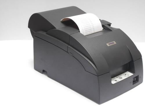 epson tm-u220a serial cortadora automática rollo fiscal