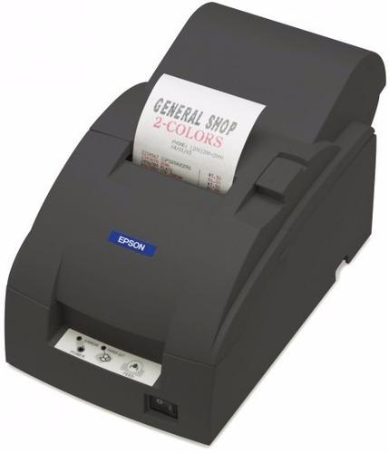 epson tmu 220a serie c/ fuente audit+autocut negra