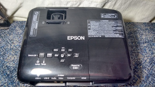 epson video proyector s18+ power lite 3000 lumenes 3lcd hdmi