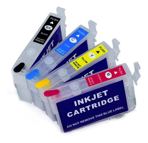 epson xp 2101  cartuchos rellenables ilimitados + tinta