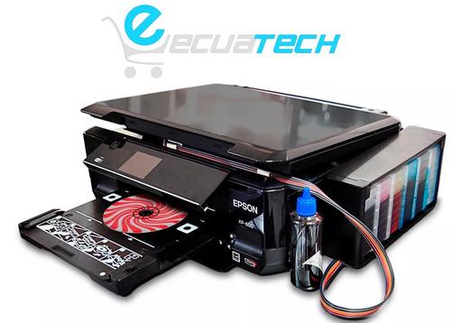 epson xp600 + sistema tipo original, wifi, duplex imprime cd