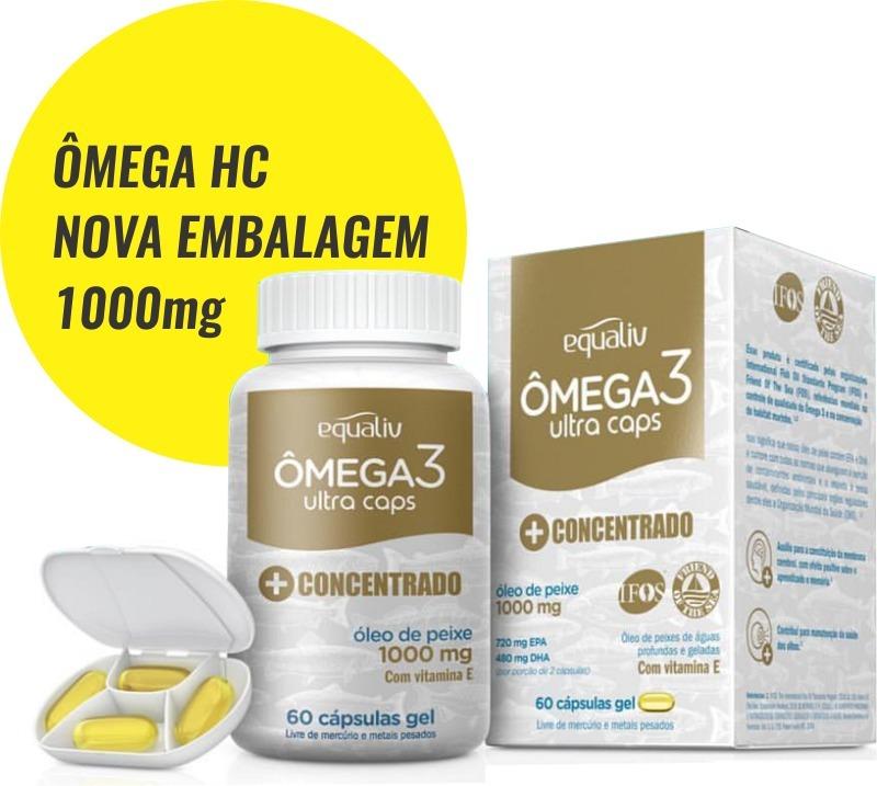 a75a4426228 equaliv omega 3 hc ultra caps + concentrado 60 cáps  oferta. Carregando  zoom.
