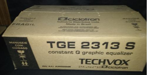 equalizador ciclotron tge 2313