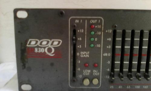 equalizador dod sr 830 q