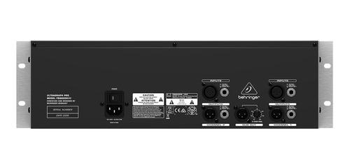 equalizador gráfico 31 bandas behringer fbq 6200 hd