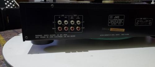 equalizador jvc se-472  não gradiente sony technics sansui