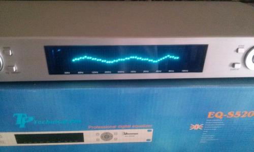 equalizador profesional digita 15 bandas x 2 technical pro