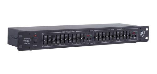 equalizador profissional l l áudio eq 20 st10 - 2 canais nca