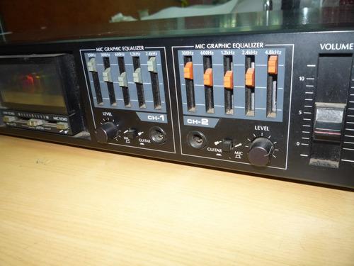 equalizador samsui rg-707 conservado