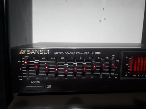 equalizador sansui se-3100