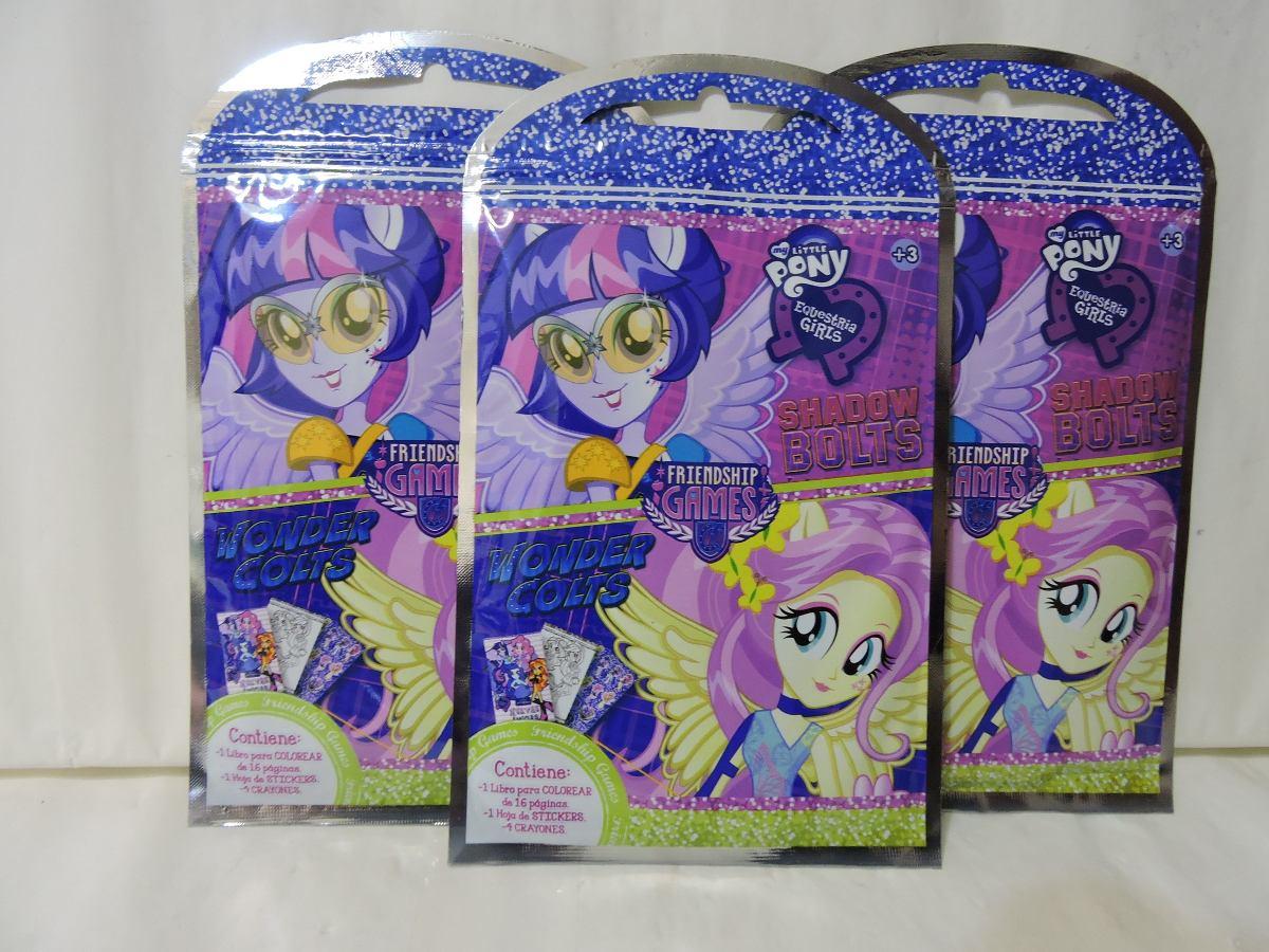 Equestria Girls Fiestas 10 Libros Colorear 16 Paginas 4 Colo ...