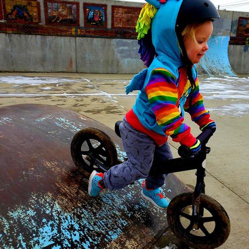 equilibrio niños bicicleta