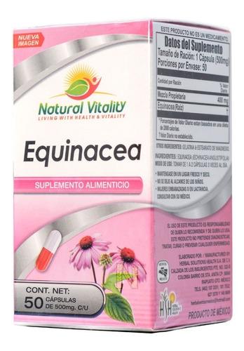 equinacea 50 caps natural vitality